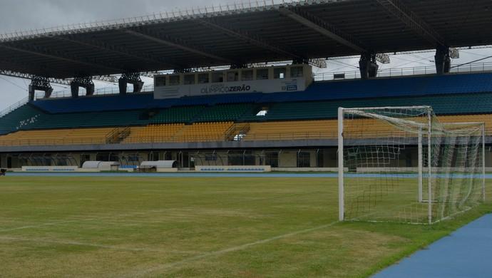 Estádio Olímpico Zerão; Futebol; Amapá (Foto: Rafael Moreira/GE-AP)
