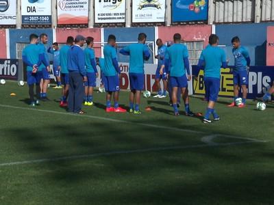 treino paraná clube  (Foto: Reprodução/RPC)