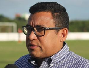 Eliel Tavares, diretor de futebol do América-RN (Foto: Canindé Pereira/Divulgação)