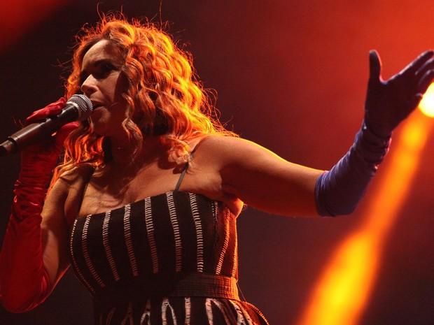 VIRADA CULTURAL - Sábado (21h30): Daniela Mercury se apresenta no Palco Júlio Prestes lembrando os 30 anos de axé music (Foto: Victor Moriyama/G1)