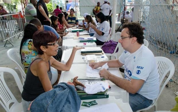 Em 2014, Ação Global Nacional registrou mais de 1 milhão de atendimentos em todo o país. (Foto: Globo/Kiko Cabral)