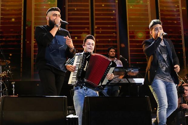 Henrique e Juliano se apresentam em festival em SP (Foto: Cláudio Augusto/Brazil News)