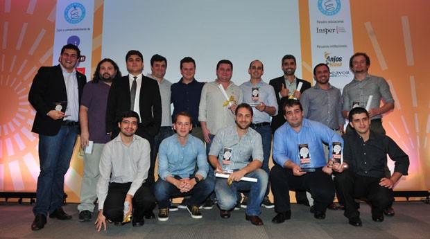 Os ganhadores do Prêmio Empreendedor de Sucesso 2013 (Foto: Teco Rodrigues )