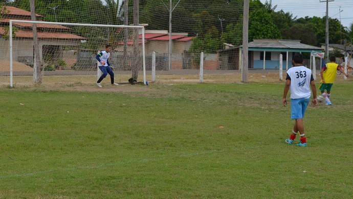 Pênalti é chance para consagração de goleiro (Foto: Bruno Willemon)