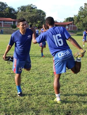 Diego desfalca Piauí em 'decisão' para as semifinais (Foto: Renan Morais/GLOBOESPORTE.COM)