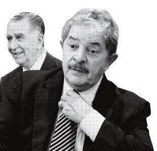 QUEM COLHEU Lula e Médici recolheram os efeitos benéficos das reformas. Em seus governos, o crescimento econômico do país se acelerou   (Foto: Arq. Estadão Conteúdo e Vanessa Carvalho/News Free/LatinContent/Getty Images)