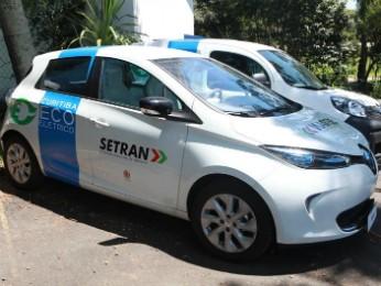 Dez carros elétricos serão integrados à frota da prefeitura a partir desta quarta (12) (Foto: Cesar Brustolin/SMC)