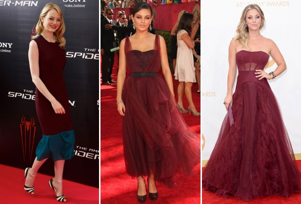 EMMA STONE, MILA KUNIS E KALEY CUOCO (Foto: Getty Images)