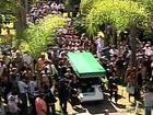 Corpo do cantor e compositor Wando é enterrado em Belo Horizonte