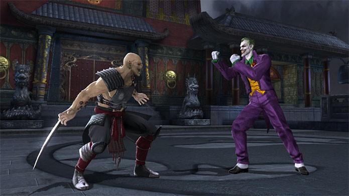 Mortal Kombat vs. DC Universe misturou personagens (Foto: Divulgação)