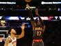 Schroder faz de 3 no fim, estrelas dos Knicks erram, e Hawks ganham em NY
