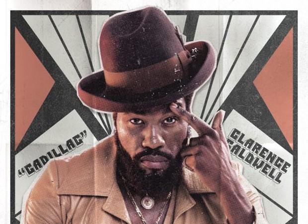 Poster deixa claro a paixão pela marca do personagem Clarence (Cadillac) (Foto: Divulgação)