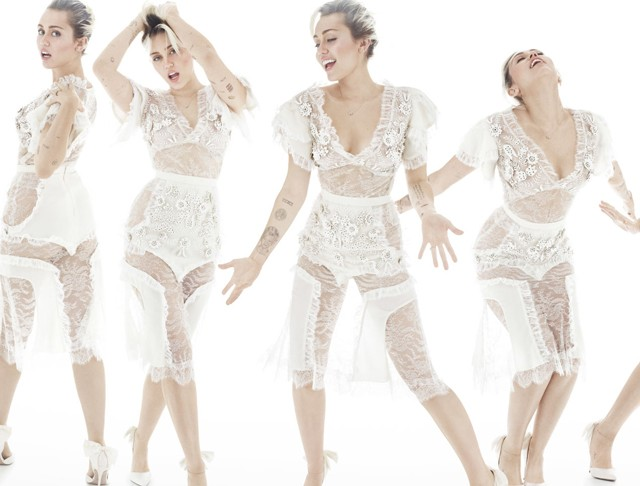 Miley Cyrus (Foto: Reprodução/Elle)