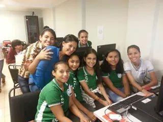 Equipe é formada por estudantes da 8ª série (Foto: Divulgação/Escola Fluminense)