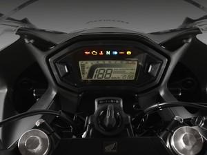 Painel Honda CBR 500R (Foto: Divulgação)