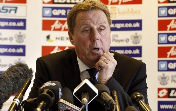 Harry Redknapp novo treinador do QPR - Agência AP (Foto: Agência AP)