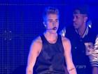 Justin Bieber é vaiado durante apresentação no Canadá