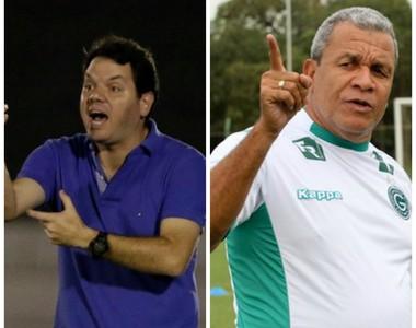 Ituano x Goiás (Foto:  Miguel Schincariol / Ituano FC e Rosiron Rodrigues / Goiás E.C.)