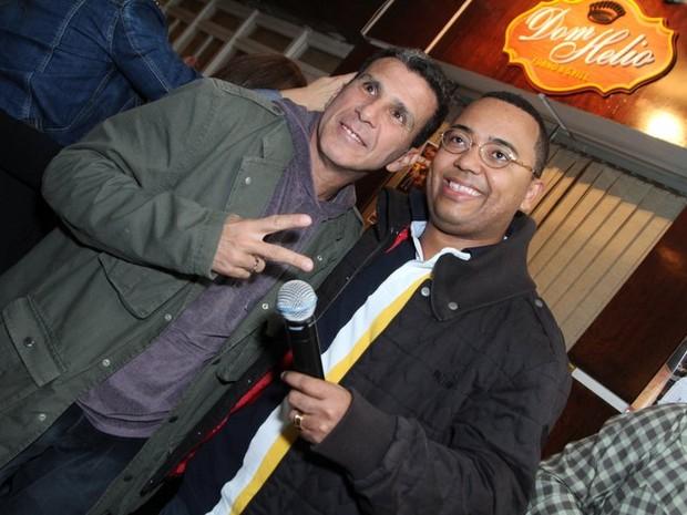 Eri Johnson e Dudu Nobre em festa no Rio (Foto: Anderson Borde/ Ag. News)
