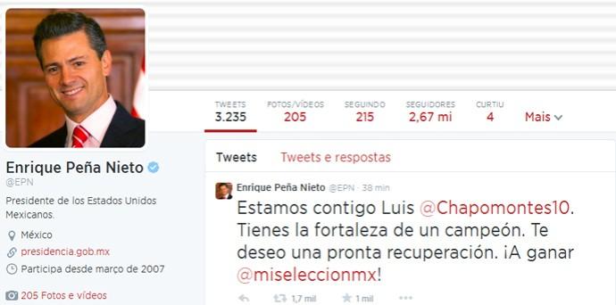 twitter presidente México (Foto: Twitter)