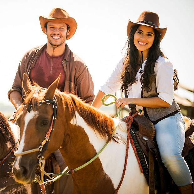 Camilla Camargo será a nossa maior referência country na novela; de olho nela! (Foto: TV Globo/Divulgação)
