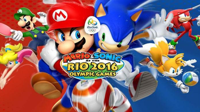 Melhores jogos para 3DS de 2016: Mario & Sonic at the Rio 2016 Olympic Games (Foto: Divulgação/Nintendo)
