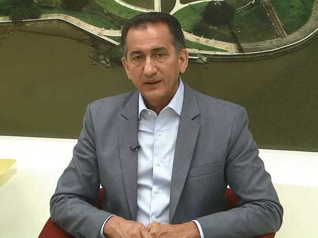 Waldez Góes, governador do Amapá pelo PDT (Foto: Reprodução/Rede Amazônica no Amapá)