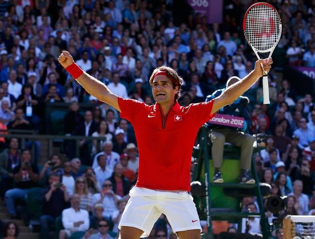 tênis roger federer londres 2012 (Foto: Agência Reuters)