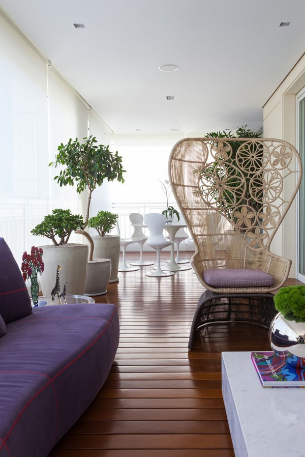 12 ideias para decorar varandas de apartamentos - Casa Vogue ...