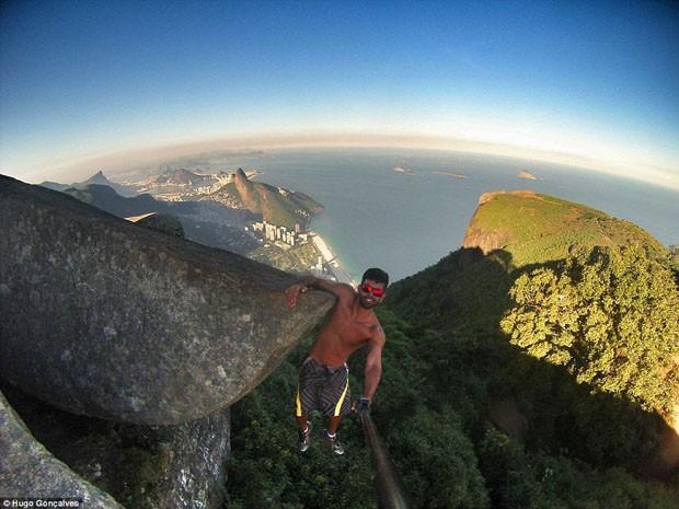 Selfie na Gávea (Foto: Instagram/ Reprodução)