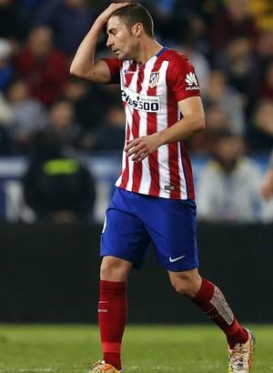 Gabi Atlético de Madrid x Málaga (Foto: EFE)