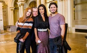 Marina Ruy Barbosa, Fabio Assunção, Juliana Paes e Daniel Rocha (Foto: João Miguel Jr./ Globo)