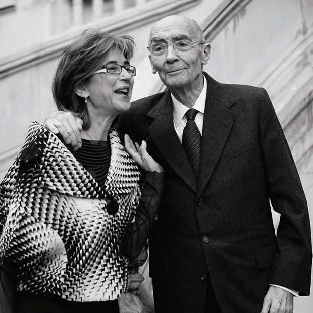 Pilar e o marido em Madri em 2009  (Foto: Reprodução)
