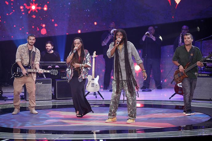 GrooVI se apresenta no Superstar (Foto: Inácio Moraes/Gshow)