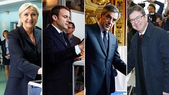 Foto: (Charles Platiau/Reuters; Eric Feferbert/Reuters; Christophe Archambault/AFP e François Mori/AP)