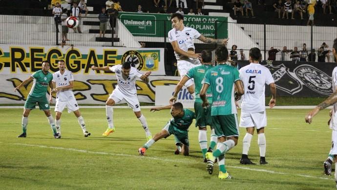 ABC x Alecrim, no Estádio Frasqueirão (Foto: Andrei Torres/ABC FC)