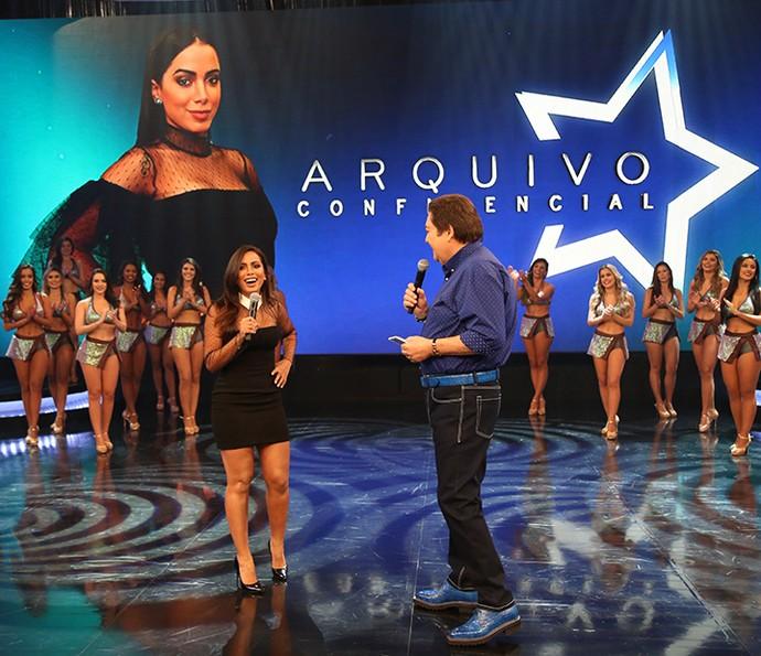 Anitta finalmente está no 'Arquivo Confidencial' (Foto: Carol Caminha/Gshow)