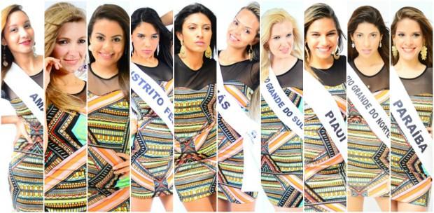 Conheça candidatas ao Miss Surda Brasil. (Foto: Eunivan Silva/Miss Surda Brasil)