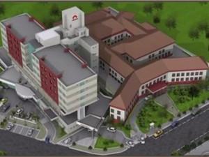 Projeto arquitetônico do novo prédio da maternidade já foi aprovado (Foto: Reprodução/ RBS TV)