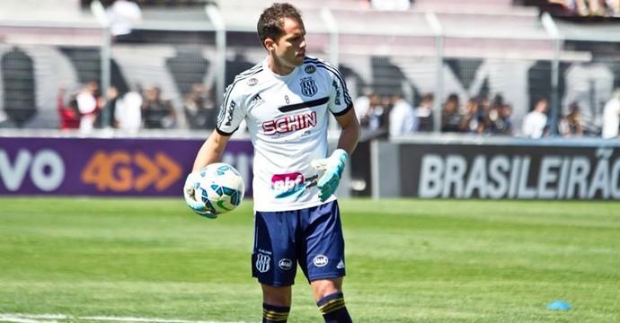 Marcelo Lomba, goleiro da Ponte Preta (Foto: Victor Hafner/ Ponte Press)