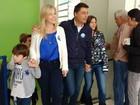 Candidato à reeleição em Ponta Grossa, Marcelo Rangel registra voto