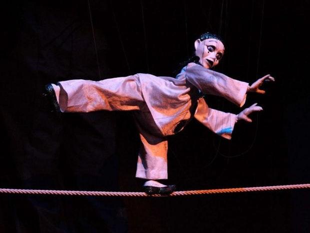 The Huber Marionettes apresenta espetáculo nesta quarta-feira em Cuiabá. (Foto: Divulgação/assessoria)