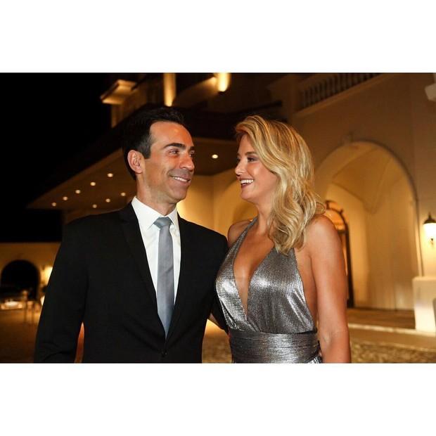Cesar Tralli e Ticiane Pinheiro (Foto: Reprodução/ Instagram)