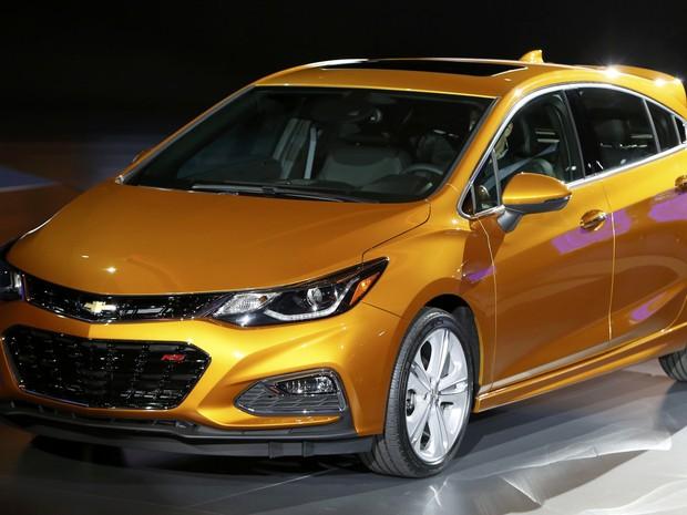 Novo Chevrolet Cruze Hatch (Foto: REUTERS/Gary Cameron)