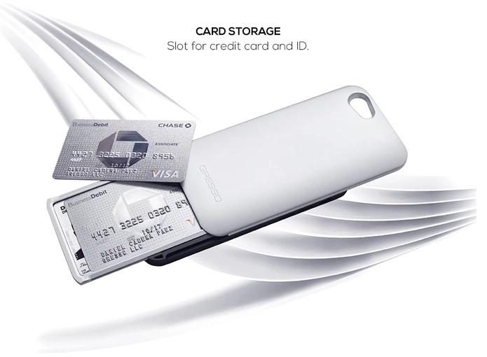Case é super resistente e serve até para guardar cartões (Foto: Divulgação/Gresso)