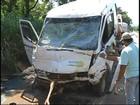 Três veículos se envolvem em grave acidente em Botucatu, SP