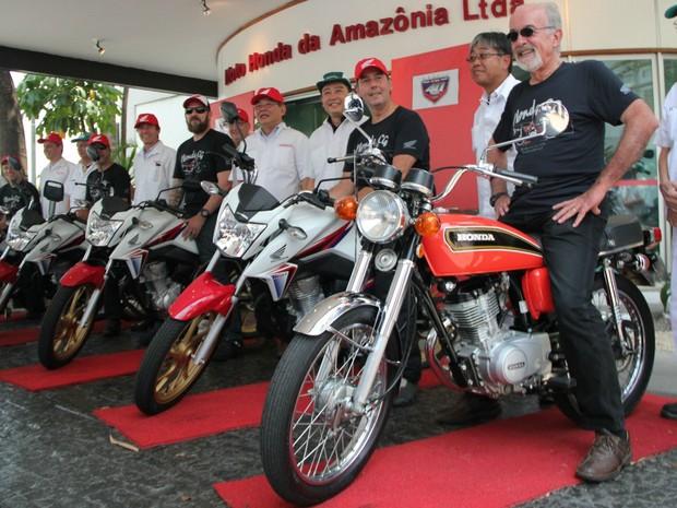 G1 Expedição De Manaus A São Paulo De Moto Marca 40 Anos