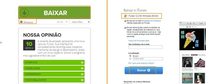 Baixe a versão 12.2 do iTunes no Windows (Foto: Reprodução/Barbara Mannara)