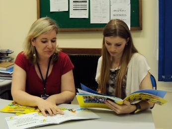 Coordenadora pedagógica e professora participaram do projeto (Foto: Tatiana Lopes/G1)