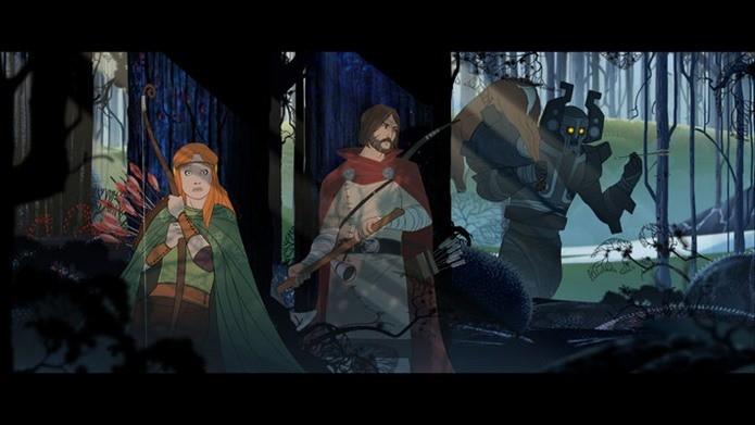 Banner Saga é um jogo de RPg com uma aventura épica e em português (Foto: Divulgação)